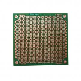 PLACA PERFURADA LIG. 10 X 10 PP-L 1260 - VERDE-