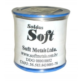 SOFT - SOLDA 1,0MM 60 X 40 C/RES.ROLO 500G-