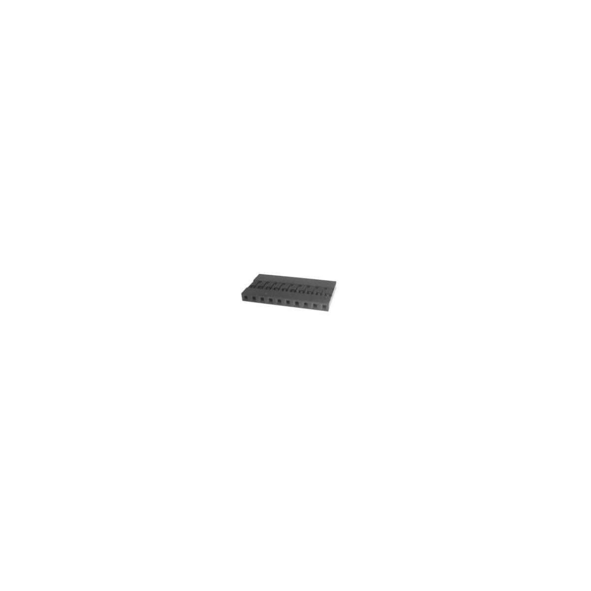 MODU MLS-10 1X10 VIAS - 2,54MM/180 - METALTEX-