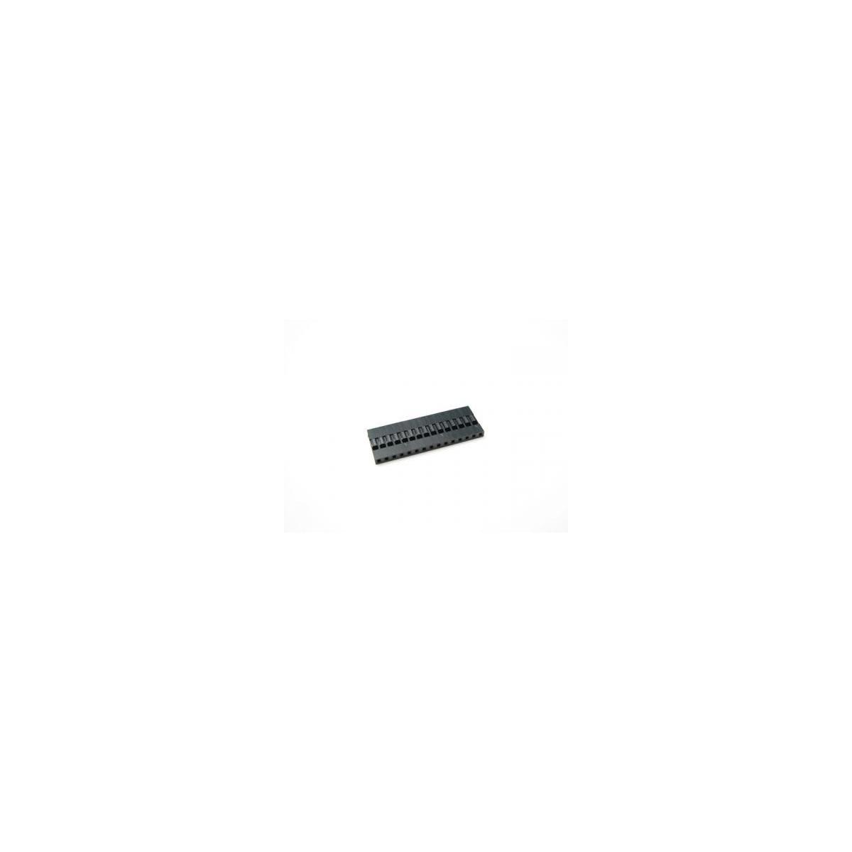 MODU MLS-15 1X15 VIAS - 2,54MM/180º - METALTEX-