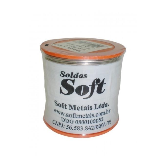 SOFT - SOLDA 0,5MM 63 X 37 C/RES.ROLO 500G-