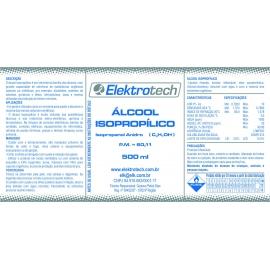 ALCOOL ISOPROPILICO -   500ML
