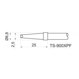 TOYO - PONTA FEN. P/EST. DE SOLDA TS 900XPF