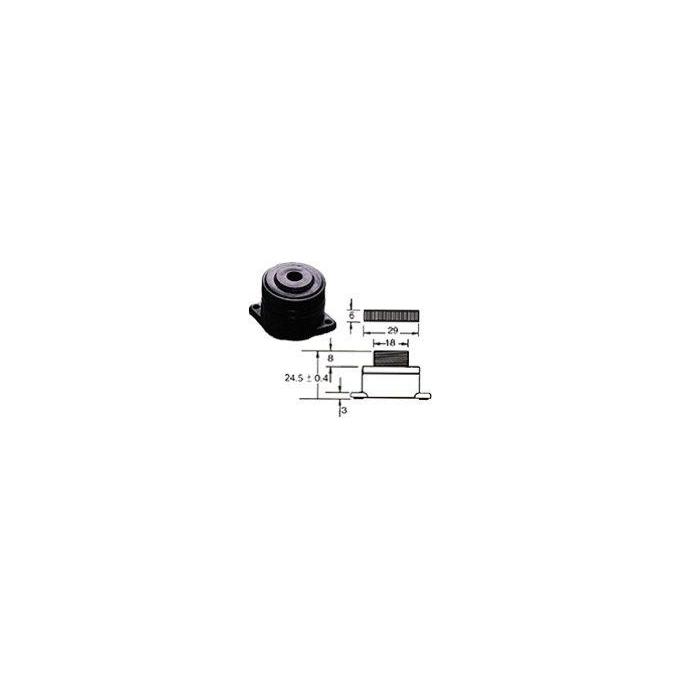 BUZZER P.ELETRICO 3 A 16 VDC - B7P-3120L INTERMI
