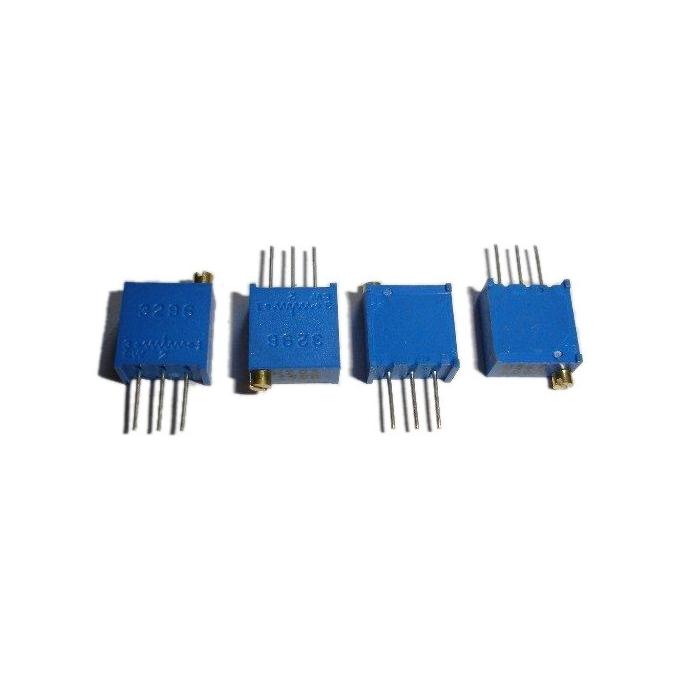 TRIMPOT 3296W = 64W (25 VOLTAS)-    500R - 501