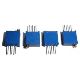 TRIMPOT 3296W = 64W (25 VOLTAS)-   5K - 502