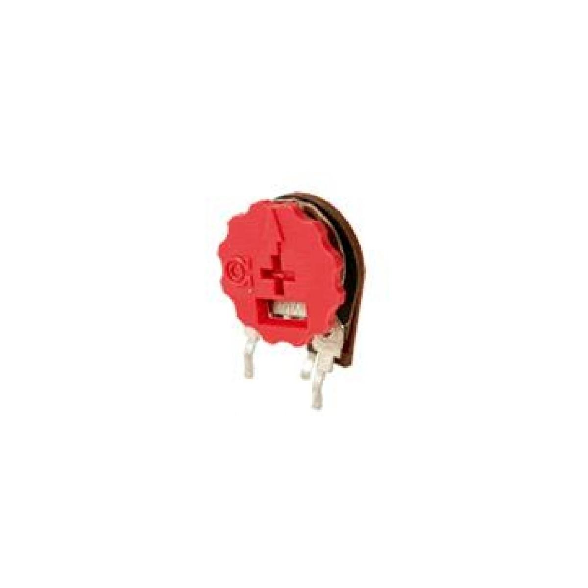 TRIMPOT VERTICAL 14MM COM BOTAO VM-     330 R