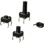 CHAVE TACTIL A 06 - 12,0 - ( 6 X 6 X 12,0 ) METALTEX