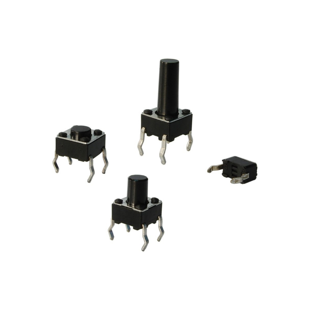 CHAVE TACTIL A 06 - 7,7 - ( 6 X 6 X 7,7 ) METALTEX