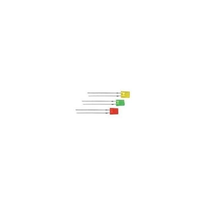 LED VERDE RETANGULAR - TMCL 262