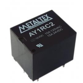 RELE AY 1RC2 - 12VCC - METALTEX