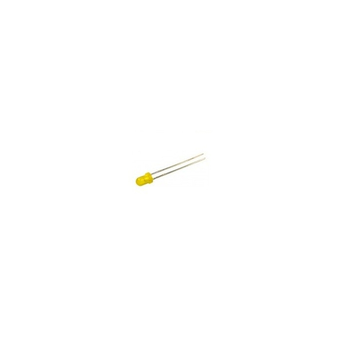 LED AMARELO 3MM - TIL 212