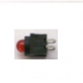 LED COM SUPORTE AMARELO 5MM