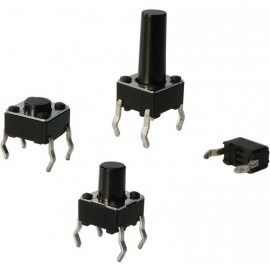 CHAVE TACTIL A 06 - 19,0 - ( 6 X 6 X 19,0 )
