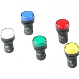 SINALEIRO LED 22MM   24V - VERDE ( L20-DR7-GP )