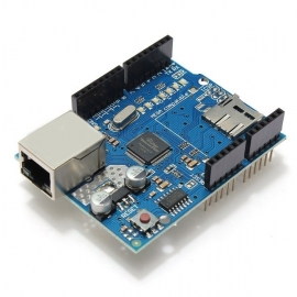 ARDUINO - SHIELD - ETHERNET W5100 P/ UNO E MEGA