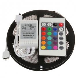 LED - SMD ROLO FITA RGB  (5050) - 5 METROS (COM CONTROLE )