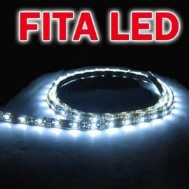 LED - SMD ROLO FITA BRANCO FRIO (5050) - 5 METROS