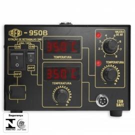 ESTACAO DE RETRAB./SOLDA MAX 950B - 127V DIGITAL