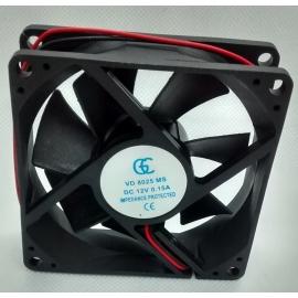 VENTILADOR - 80 X 80 X 25MM - 12VDC - 0803N