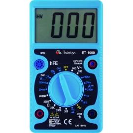 MULTIMETRO DIGITAL  - ET 1000