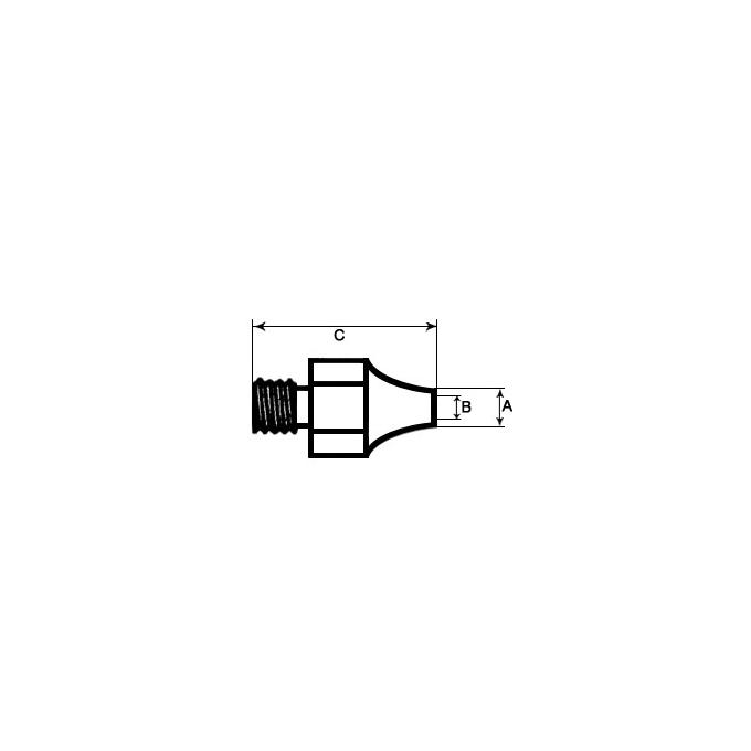 WELLER - PONTA P/EST. DESSOLD. DS 110