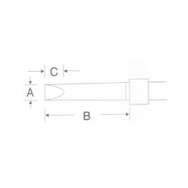 BORNE    BR 103C - 03 VIAS CINZA - METALTEX-